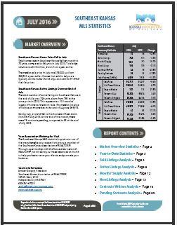 SEKAR Statistical Report Snip